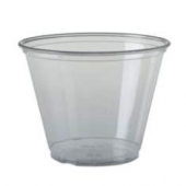 Solo - Cup, 9 oz Clear Plastic Cold Cup