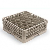 Vollrath - Traex Rack Max with 30 Hexagon Compartments (Full Size), Beige Plastic