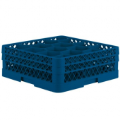 Vollrath - Traex Glass Rack Max with 12 Compartments (Full Size), Blue Plastic