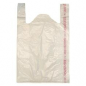 T-Shirt Bag, Extra Small Clear, 8x5x16
