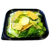 Food Container Lid, Fits 9.25x9.25 Base, Clear PET Plastic