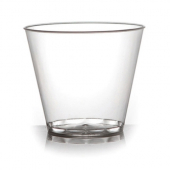 Fineline Settings - Savvi Serve Tumbler, 5 oz Squat Clear Plastic