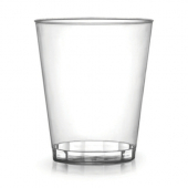 Fineline Settings - Savvi Serve Tumbler, 7 oz Clear Plastic