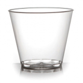 Fineline Settings - Quenchers Tumbler, 9 oz Clear Plastic