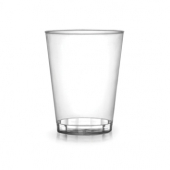 Fineline Settings - Quenchers Shot Glass, 2 oz Clear Plastic