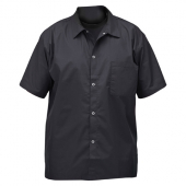 Winco - Chef Shirt, Black, Large
