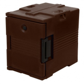 Cambro - Ultra Pan Carrier for Food Pans, 13.125x19.125x21 Dark Brown Front Loading Insulated