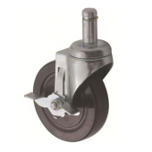 Winco - Wire Shelving Caster with Brake
