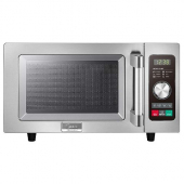 Midea - Microwave Oven, Commerical Light Duty, 1000W 25 Liter Capacity with Dial and Touch Controls,