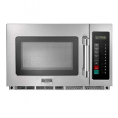Midea - Microwave Oven, Commercial Heavy Duty, 1100 W 34 Liter Capacity with Keypad Controls, Stainl