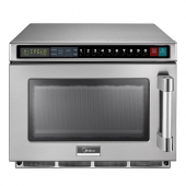 Midea - Microwave Oven, Commercial Heavy Duty with USB Port, 2100W 17 Liter Capacity with Keypad Con