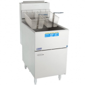 Pitco - Gas Fryer, 65-80 Lb Oil Capacity, Stainless Steel, 150,000 BTU