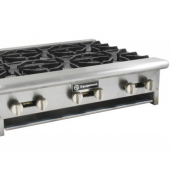 GSW - Countertop Hot Plate with 8 Burners, 48x30x10, Total BTU 256,000