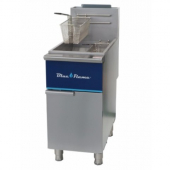Blue Flame - Fryer, Solid State Control, 33.1x18.5x33.5, 30,000 BTU 3 Heat Tubes, Natural Gas, 35-40