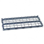 "Nexel - Dunnage Shelf, 48x18 Wire, 1"" Square Steel Tubing with Removable Decking, 1300 Lb Load Capac"