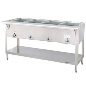 Duke - Aerohot Steam Table with 4 Wells, Electric, 22.5x58.5x34 Stainless Steel, Stationary