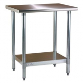 Blue Air - Work Table, 24x60x34 Stainless Steel