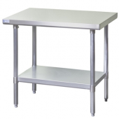 Blue Air - Work Table, 30x18x34 Stainless Steel