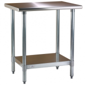 Blue Air - Work Table, 30x48x34 Stainless Steel