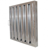 Flame Gard - Baffle Grease Filter, 10x20x1.75 Stainless Steel