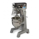 General - Commercial Planetary Mixer, 30 Quart with 3 Pre-Selected Fixed Speeds, Overload Switch and