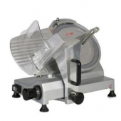 "General - Economy Slicer, 10"" Smooth Blade, Gravity Feed, Cast Aluminum Body"
