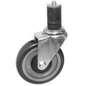 "GSW - Caster with Rubber Stem, 6"" Wheel"