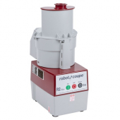 Robot Coupe - R2 Dice Combination Continuous Feed Food Processor and Dicer with 3 Quart Gray Polycar