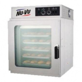 Nu-Vu - Tabletop Convection Oven, Fits 5 Full Size Sheet Pans, 41.75x30x37.8 Stainless Steel