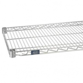 Nexel - Shelving, 24x18 Wire with Poly-Z-Brite Clear Epoxy Over Zinc Plate