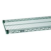 Nexel - Shelving, 48x18 Wire with Poly-Green Epoxy with Nexgard Antimicrobial Coating, each