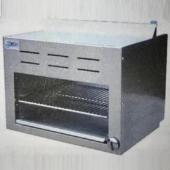 Stratus - Cheese Melter Broiler, 60x18x17 Stainless Steel, 60,000 BTU, Natural Gas