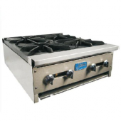 "Stratus - Hot Plate, Heavy Duty 24"" with 4 Burners, 24x29x10, Total BTU 104,000"