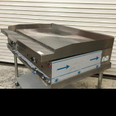 Stratus - Thermostatic Control Gas Griddle, Heavy Duty 36x33.5x16 with 3 Burners Custom 12