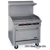 "Therma-Tek - Gas Range with 36"" Griddle and 26"" Oven, 57.5x36x41.25"