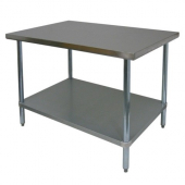 GSW - Work Table, Premium 30x60x35 Stainless Steel