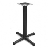 "Amko - Table Base, 28"" Height Black Cast Iron"