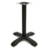 "Amko - Table Base, 28"" Height Black Cast Iron, 28 Lbs"