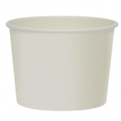 Solo - Food Container, 10 oz White Paper