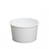 Karat - Hot/Cold Paper Food Container, 4 oz White