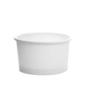 Karat - Hot/Cold Paper Food Container, 5 oz White
