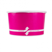 Karat - Hot/Cold Paper Food Container, 5 oz Pink