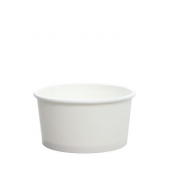 Karat - Hot/Cold Paper Food Container, 6 oz White