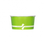 Karat - Hot/Cold Paper Food Container, 6 oz Green