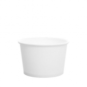 Karat - Hot/Cold Paper Food Container, 8 oz White