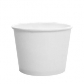 Karat - Hot/Cold Paper Food Container, 12 oz White