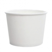 Karat - Hot/Cold Paper Food Container, 16 oz White
