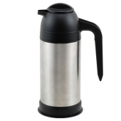 Winco - Coffee/Cream Server, 24 oz Vacuum Insulated Stainless Steel