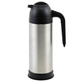 Winco - Coffee/Cream Server, 33 oz Vacuum Insulated Stainless Steel