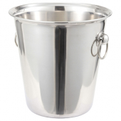 Winco - Wine Bucket, 4 Quart Stainless Steel